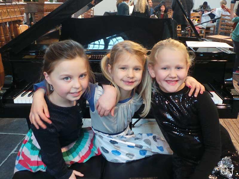 Pianoles bij Oksana Konstatinova